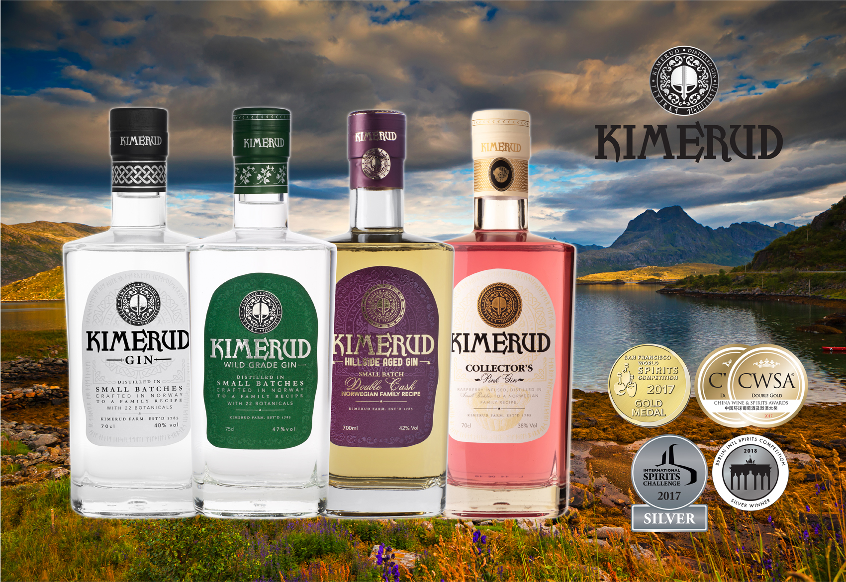 Kimerud Gin from Norway