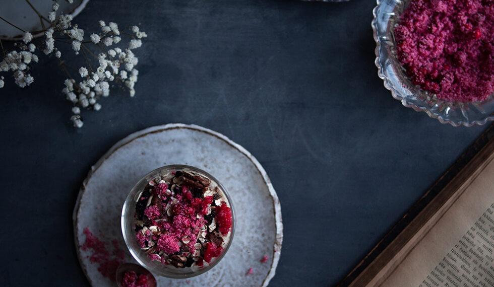 METTÄ Yoghurt with Lingonberry Xylitol